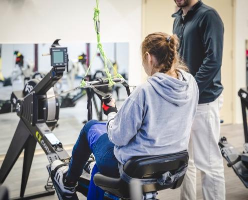 Clinique Synapse - Cours en groupe - Rame fitness