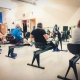 Clinique Synapse - Cours en groupe - Rame fitness