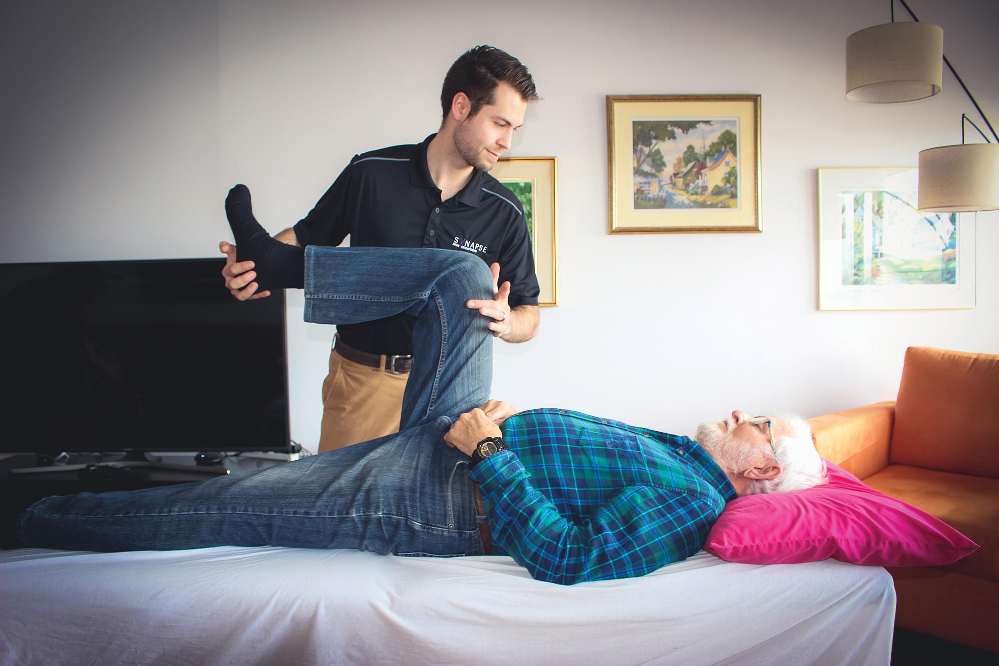Clinique Synapse - Geriatrie - Physiothérapie - Services à domicile